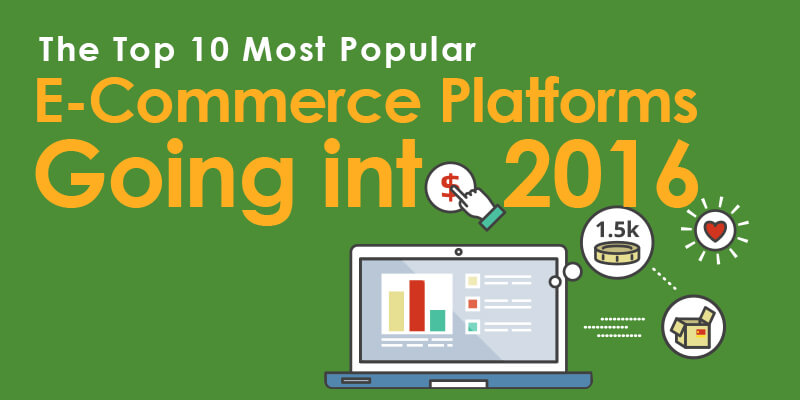 The Top 10 Most Popular eCommerce Platforms Going Into 2016