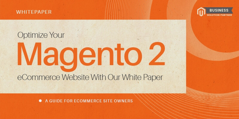 Optimize Your Magento 2 eCommerce Website With Our White Paper