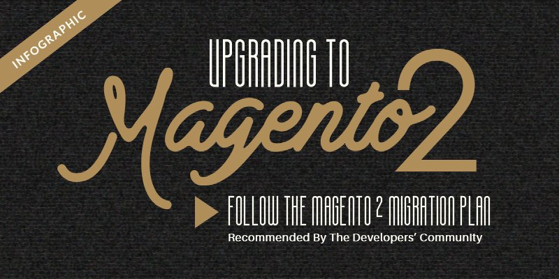 Magento 2 migration plan recommended by the developers' community