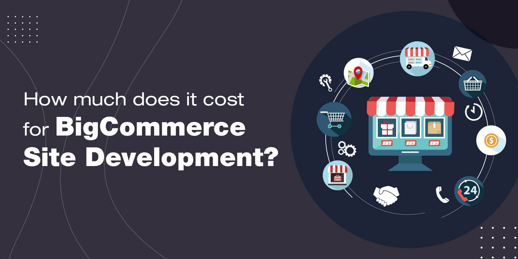How much does it cost for BigCommerce site development?