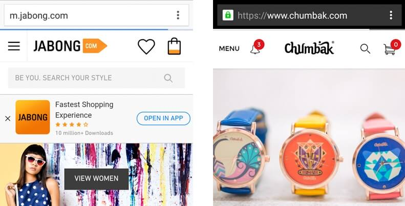 For Mobile Browsers, Make Your Search Box Prominent
