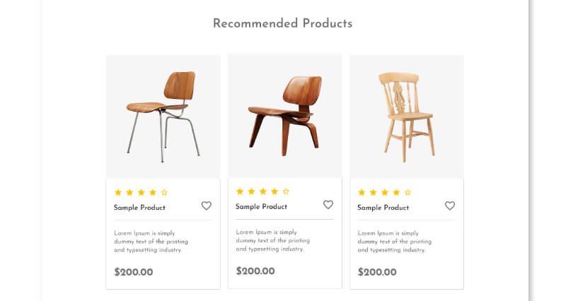 Recommend products that your customers love