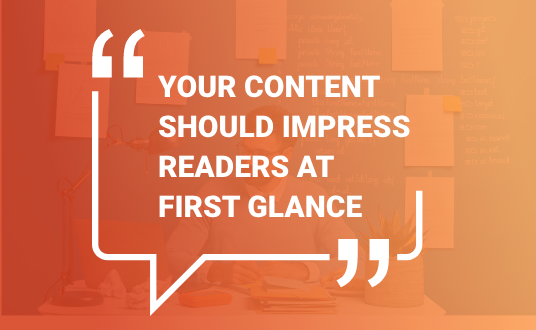 Content helps boost conversions and sales